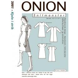 Kjole onion snitmønster