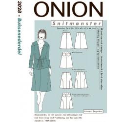Buksenederdel onion snitmønster 3028