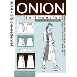 Slå om nederdel onion snitmønster 3014