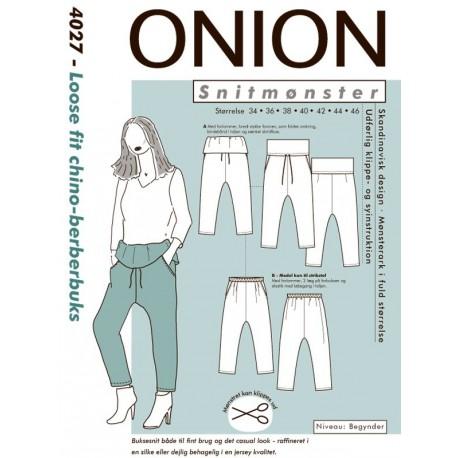 Berberbuks onion snitmønster 4027