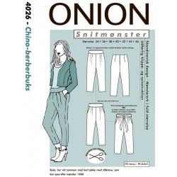 Berberbuks onion snitmønster 4026