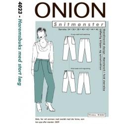 Haremsbuks med læg onion snitmønster 4023