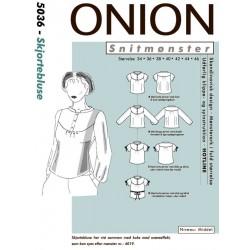 Skjorte bluse onion snitmønster 5036