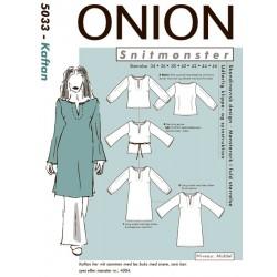 Kaftan onion snitmønster 5033