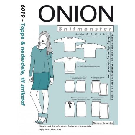 Top & Nederdel onion snitmønster 6019