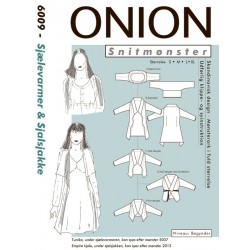 Sjælevarmer og sjælsjakke onion snitmønster 6009