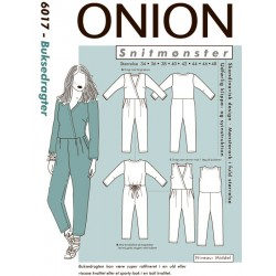 Buksedragt onion snitmønster 6017
