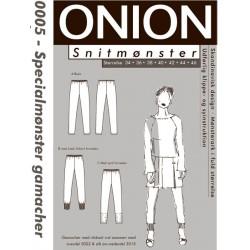 Gamacher specialmønster onion snitmønster 0005