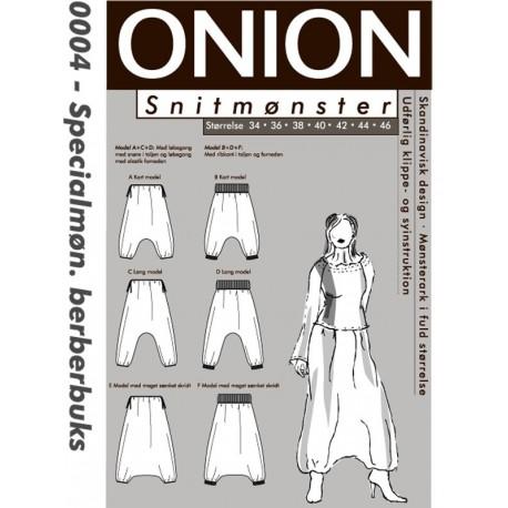 Berberbukser onion snitmønster 0004