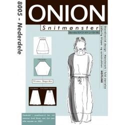 Nederdele onion snitmønster 8005