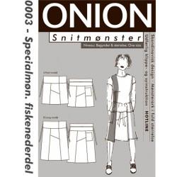Fiskenederdel specialmønster onion snitmønster 0003