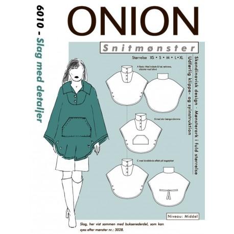 Slag m/detaljer onion snitmønster 6010
