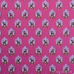 Bambi i 3 farver 100 % Bomuld