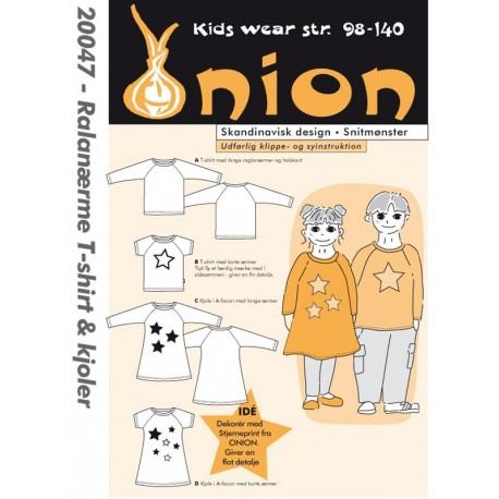 T Shirt Mraglanærme Og Kjole Onion Snitmønster