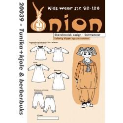 Tunika, kjole og berberbuks onion snitmønster 20039