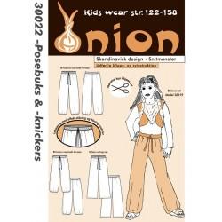Posebukser og knickers onion snitmønster 30022