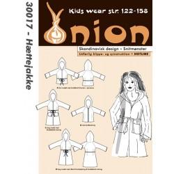 Hættejakke til piger onion snitmønster 30017