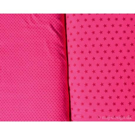 Pink med Stjerne eller små bomber
