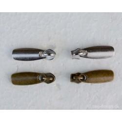 6mm glider med oval vedhæng