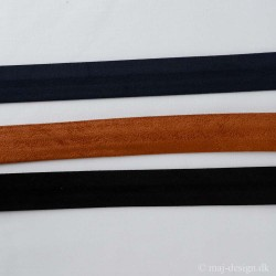 Alcantare Skråbånd 25mm bred