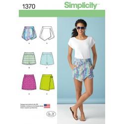 Shorts/nederdel snitmønster