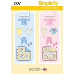 Babytøj tæppe,tøj og sko dreng/pige snitmønster