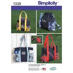 Pung, rygsæk og taske snitmønster