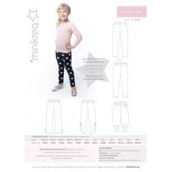 Leggings 0-10 år minikrea snitmønster 50330