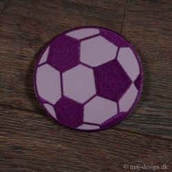 Fodbold Lyserød-Pink Ø 8 cm strygemærke