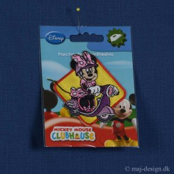 Minnie Mouse på Scooter 7x6,5 cm