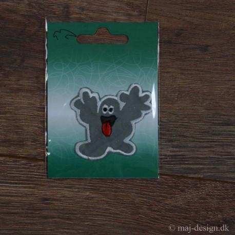 Spøgelse Reflexmærke strygemærke 5,5x5,5 cm