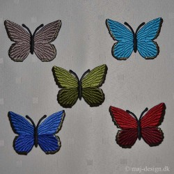 Sommerfugl Strygemærke 5,5x4,5 cm