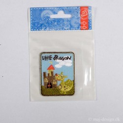 Little Dragon 5,5x4,5 cm Strygemærke