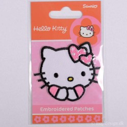 Hello Kitty 5x5 cm strygemærke