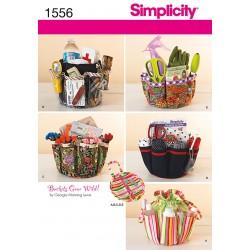 Overtræk til spand Simplicity Snitmønster 1556