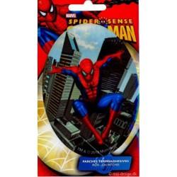 Spider-man oval 11x8 cm PRINTET Strygelapper