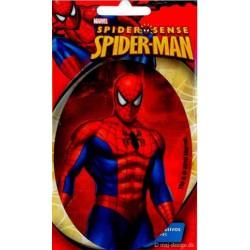 Spider-man oval 11x8 cm PRINTET Strygemærke