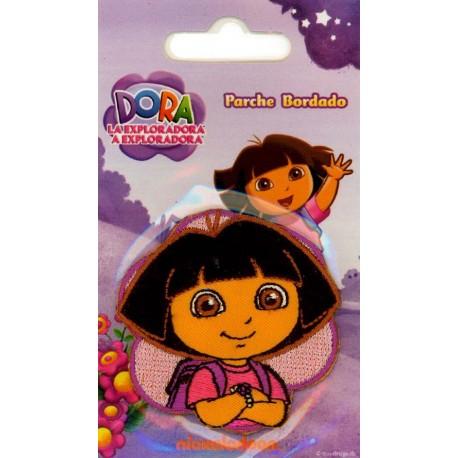 Strygemærke Dora Hoved 5,5x5,5 cm
