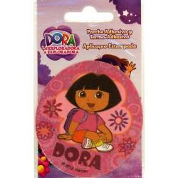 Dora Ø ca.7,5 cm PRINTET strygemærke