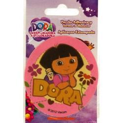 Dora ø 7,5 cm PRINTET strygemærke