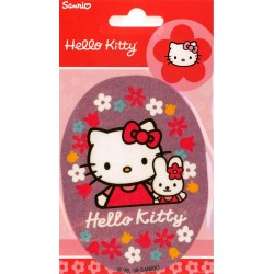 Hello Kitty m/kanin PRINTET strygemærke