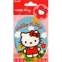 Hello Kitty PRINTET strygemærke