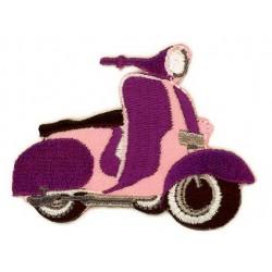Scooter 6,5x5 cm Strygemærke