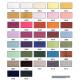 farve kort Cose Usynlig lynlås 4mm