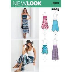 Nederdel, bukser og kjole New look snitmønster easy