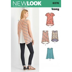 Bluse/tunika New look snitmønster easy 6376