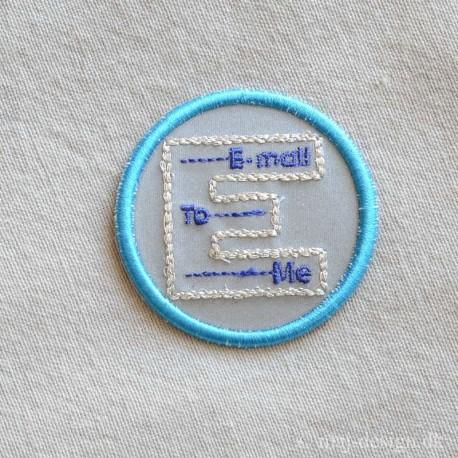 E-mail strygemærke Ø5 cm