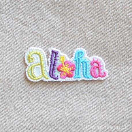 Aloha strygemærke 4,5x2 cm