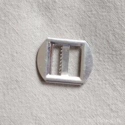 Vestespænde 20mm sølv