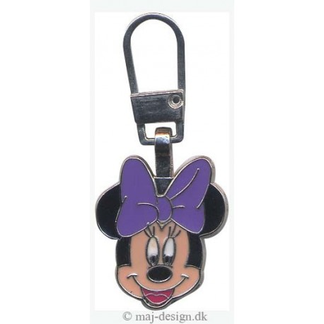 Minnie Mouse lynlåsvedhæng